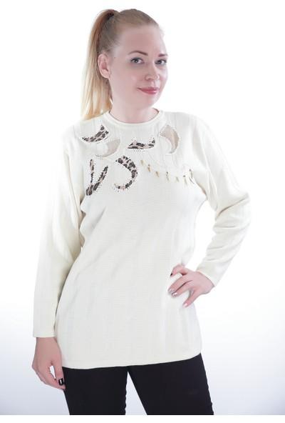 Es Kadın Triko Kazak 604