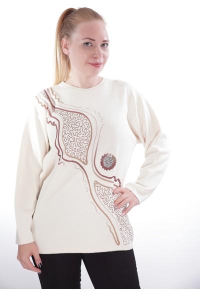 Es Kadın Triko Kazak 803