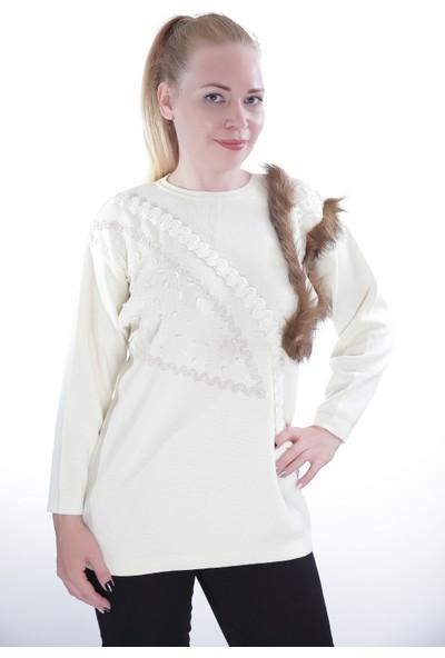 Es Kadın Triko Kazak 9513