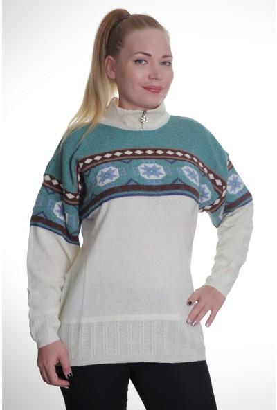 Renk Kadın Kadın Triko Kazak 508