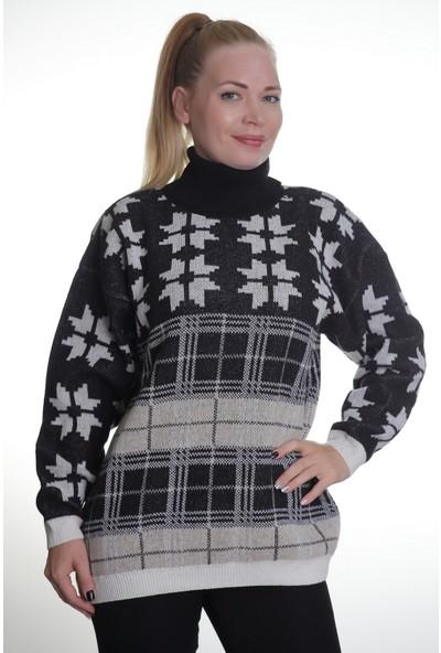 Renk Kadın Kadın Triko Kazak 32502