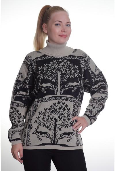 Renk Kadın Kadın Triko Kazak 932105