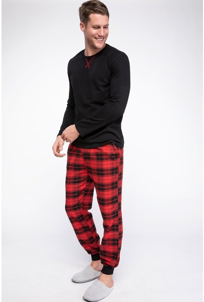 Defacto Erkek Pijama Takımı