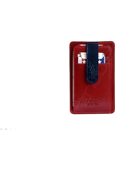 U.S. Polo Assn. Erkek Kartlık Bordo 8447