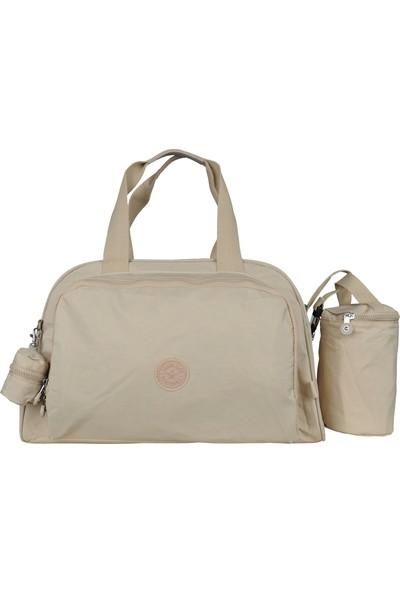 Smart Bags Anne-Bebek Bakım Omuz Çantası Smbgs1161-0004 Bej