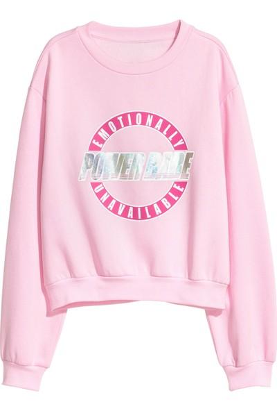 Hit Powerbabe Kadın Sweatshirt