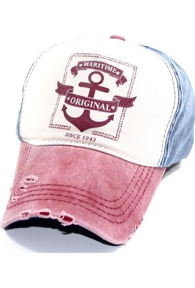 Pyz Moda Maritime Beyzbol Unisex Cap Şapka