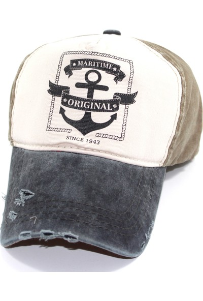 Pyz Moda Laslusa Maritime Beyzbol Cap Şapka