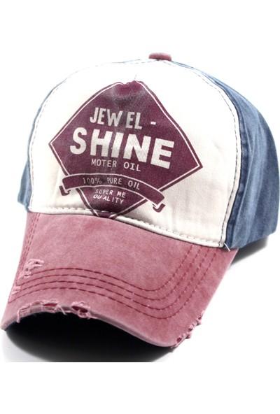 Pyz Moda Laslusa Jewel Shine Beyzbol Cap Şapka