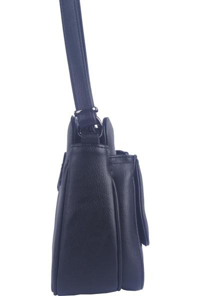 Noble Çapraz Askılı Kadın Çanta Siyah Rz1978