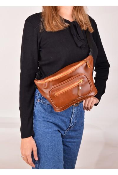 Carilla Kadın Şık ve Kullanışlı Bel Askılı Çanta