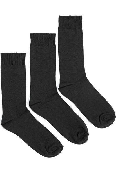 Garamond Basic 3Lu Skt-M Siyah Erkek 3'Lü Soket Çorap