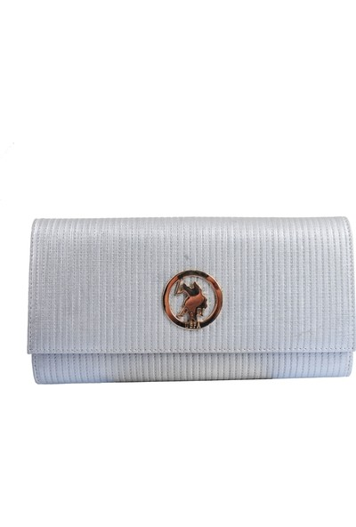 U.S. Polo Assn. Gümüş Kadın Portföy Usc6233