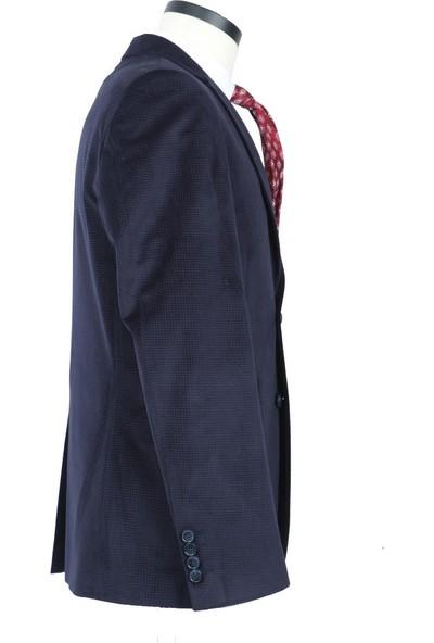 Centone Kadife Ceket Dar Ve Skınny Kalıp 18-0188