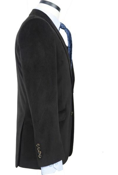 Centone Kadife Ceket Dar Ve Skınny Kalıp 18-0189