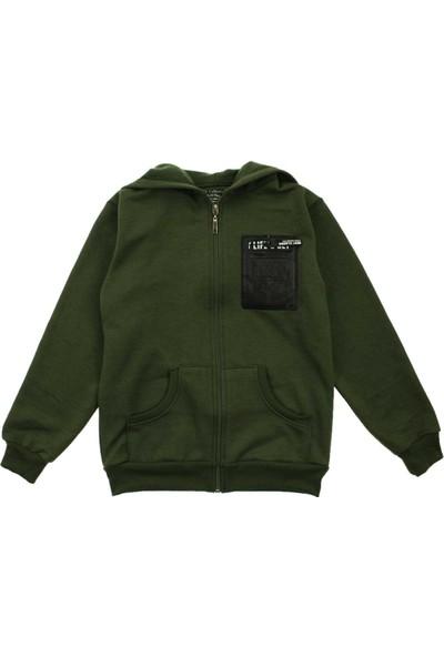 Modakids Erkek Çocuk Kapüşonlu Kışlık Ceket 019-012-018