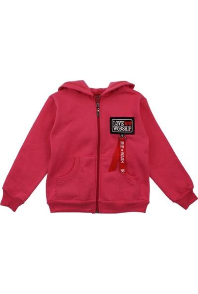 Modakids Kız Çocuk Kapüşonlu Kışlık Ceket 019-015-021