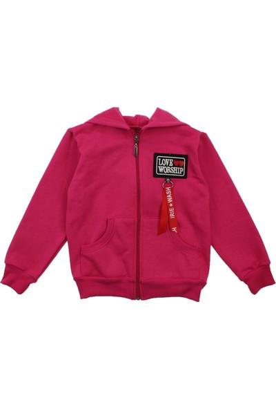 Modakids Kız Çocuk Kapüşonlu Kışlık Ceket 019-015-022