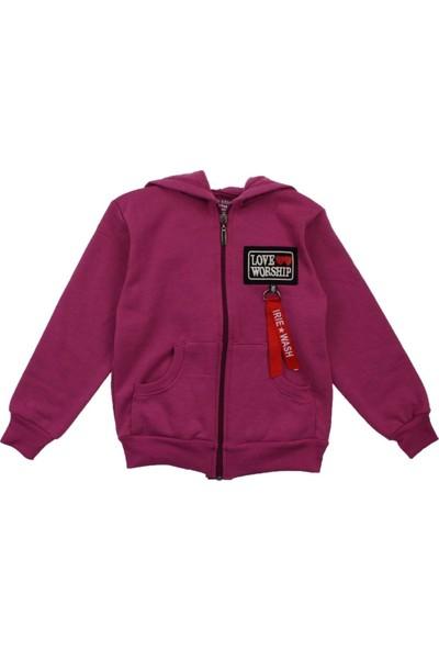 Modakids Kız Çocuk Kapüşonlu Kışlık Ceket 019-015-025