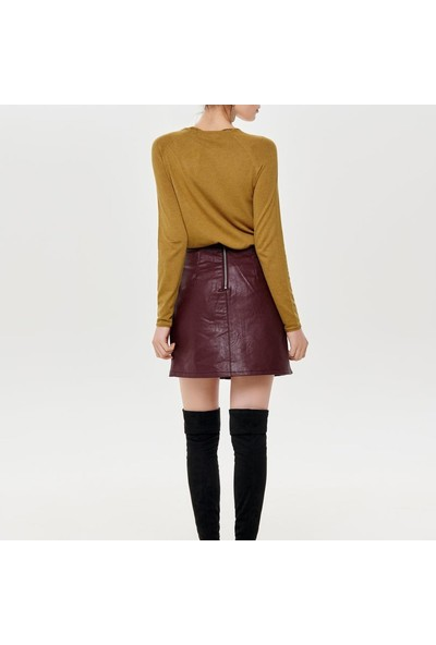 Only Triko Onlmila Lacy Pullover Knit 15150242-Tea