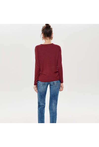 Only Triko Onlmila Lacy Pullover Knit 15150242-Tmt