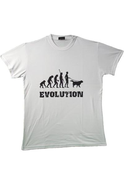 Maddog Unisex Evolution Bisiklet Yaka Tshirt