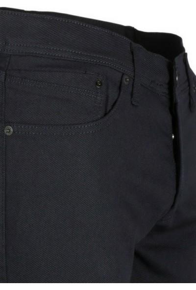Modarar Erkek Keten Kot Pantolon Slim Fit Lacivert Rar00229