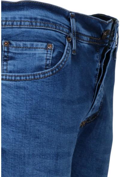 Modarar Erkek Kot Pantolon Rar00271 Slim Fit Likralı