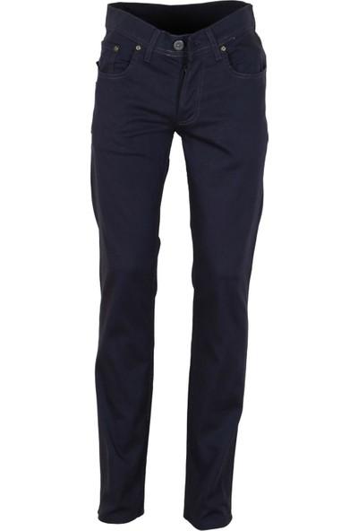 Modarar Erkek Keten Pantolon Koyu Gri Slim Fit Likralı Rar00292