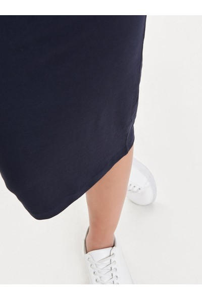 Only Onlabbie Calf Skirt Noos Kadın Etek