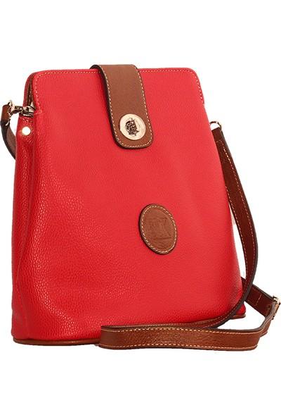 Bilik Fashion Kadın Çapraz Askılı Çanta Kırmızı-Taba 03