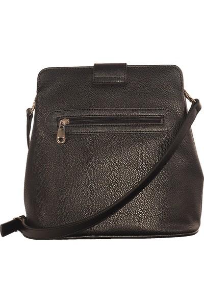 Bilik Fashion Kadın Çapraz Askılı Çanta Siyah 03
