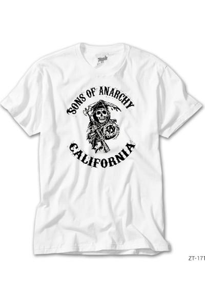 Zepplin Giyim Sons Of Anarchy California Erkek Tshirt