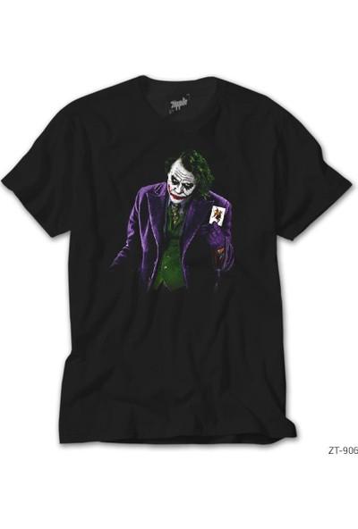 Zepplin Giyim Joker Card 2 Erkek Tshirt