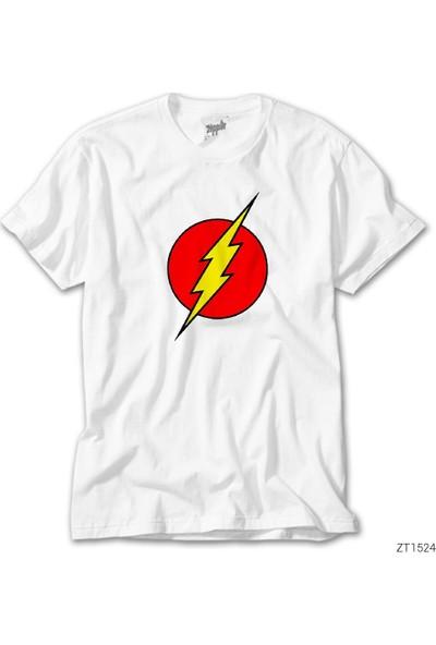 Zepplin Giyim Flash Logo Erkek Tshirt