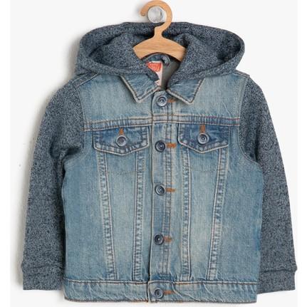 Koton Erkek çocuk Kapüşonlu Jean Ceket Fiyatı Taksit Seçenekleri