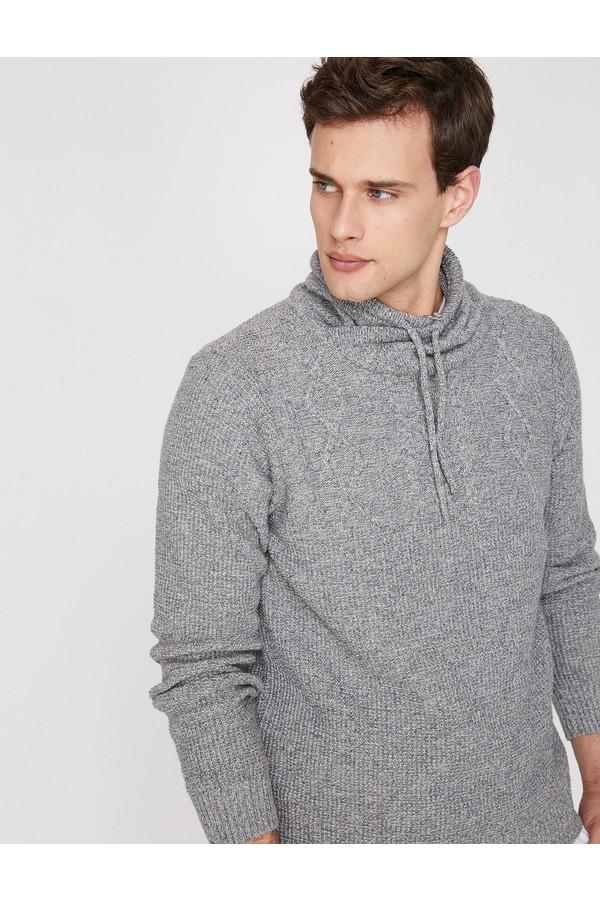 Koton High Collar Sweater