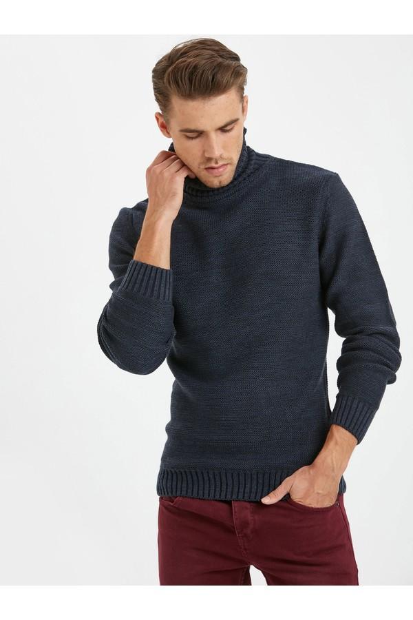 Lc Waikiki men turtlenecks Knitted Sweater