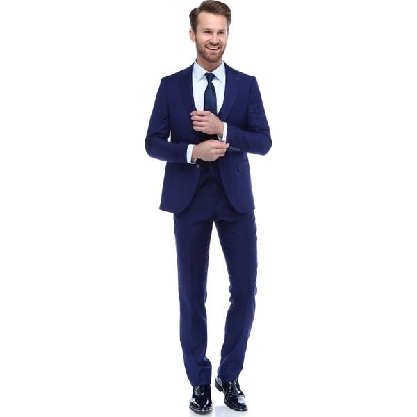 97dae80b00a3b Morven Fredo Yelekli Takım Elbise - 48 - Saks Fiyatları, Özellikleri ...