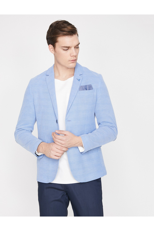Koton Men's Knitted Blazer