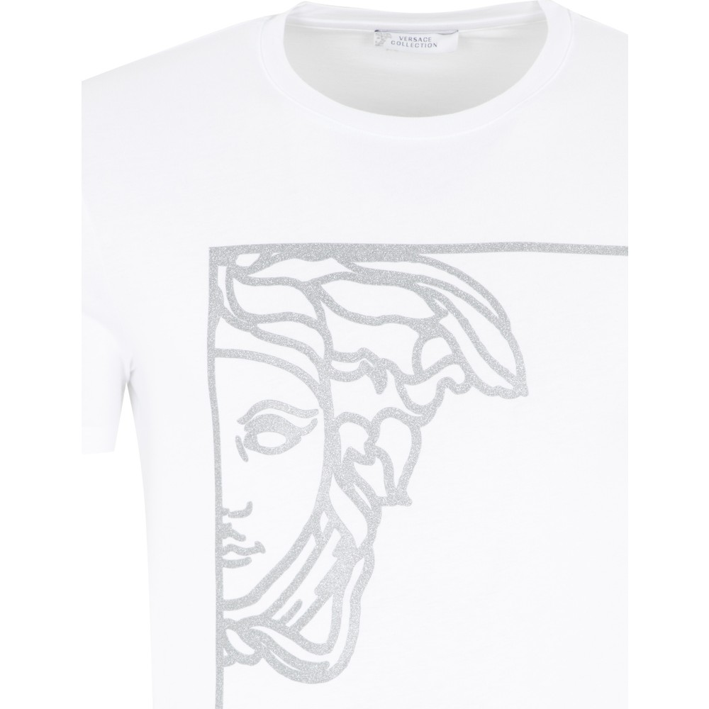 Versace Collection Tank Top T shirt Herren Schwarz V800683SVJ00477 V1008