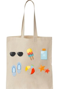 Art T-Shirt Printed Tote Bag