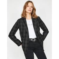 Koton Kadın Kareli Ceket