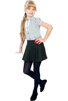 Bella Calze Opak 40 Kız Çocuk Külotlu Çorap