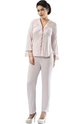 Sistina Penye Kadın Pijama Takım SG1591