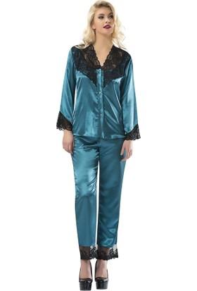 Sistina Saten Kadın Pijama Takım SG1598