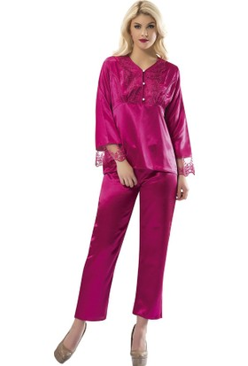Sistina Saten Kadın Pijama Takım SG1595