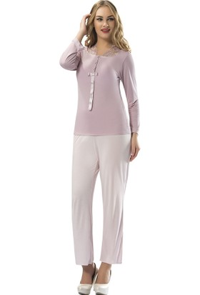 Sistina Penye Kadın Pijama Takım SG1578