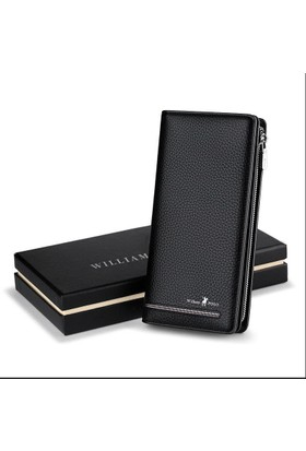 824192b520ed9 ... William Polo Deri İtalyan Uzun Erkek Cüzdan - Kartlık