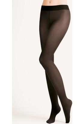 Gabriella 40 Den Siyah Düşük Bel Külotlu Çorap Hipster Vita